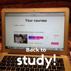 Back to study with a MOOC