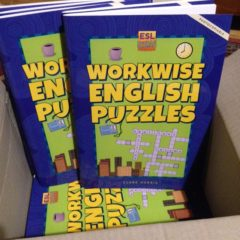 Box of Workwise English Puzzles
