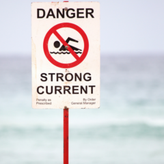 Danger Strong Current sign