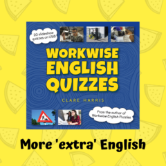 Cover for Workwise English Quizzes
