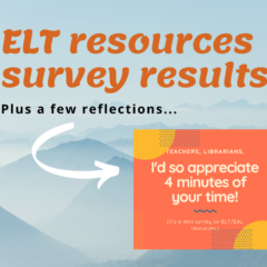ELT resources survey results