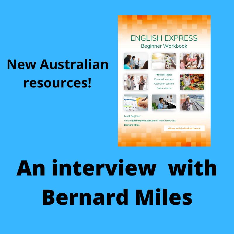 Bernard Miles new ESOL resource English Express beginner workbook